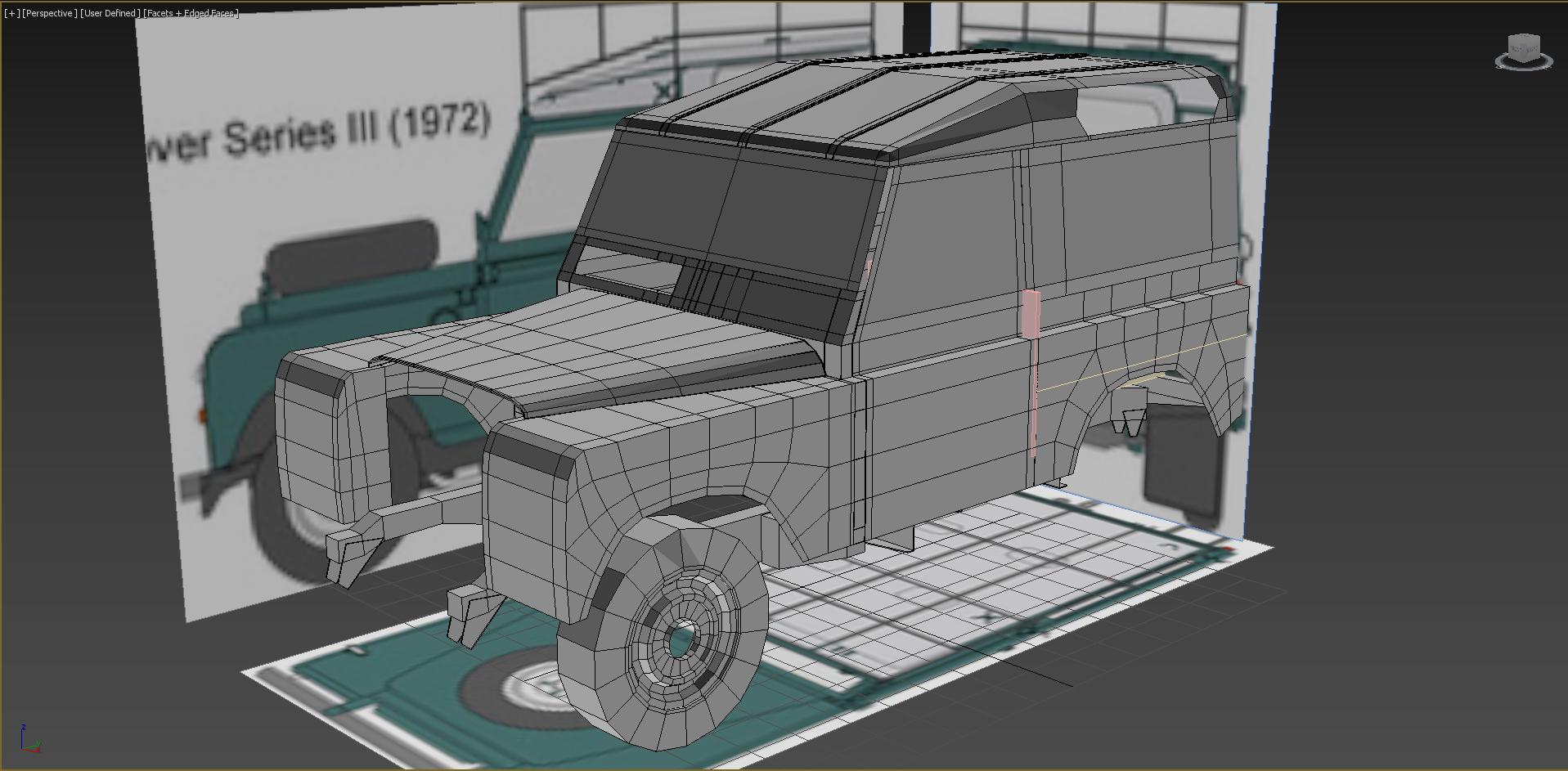 Car Render Challenge 2018-land rover series iii
