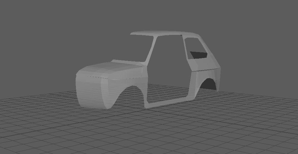 Car Render Challenge 2018 - Fiat 126p WIP