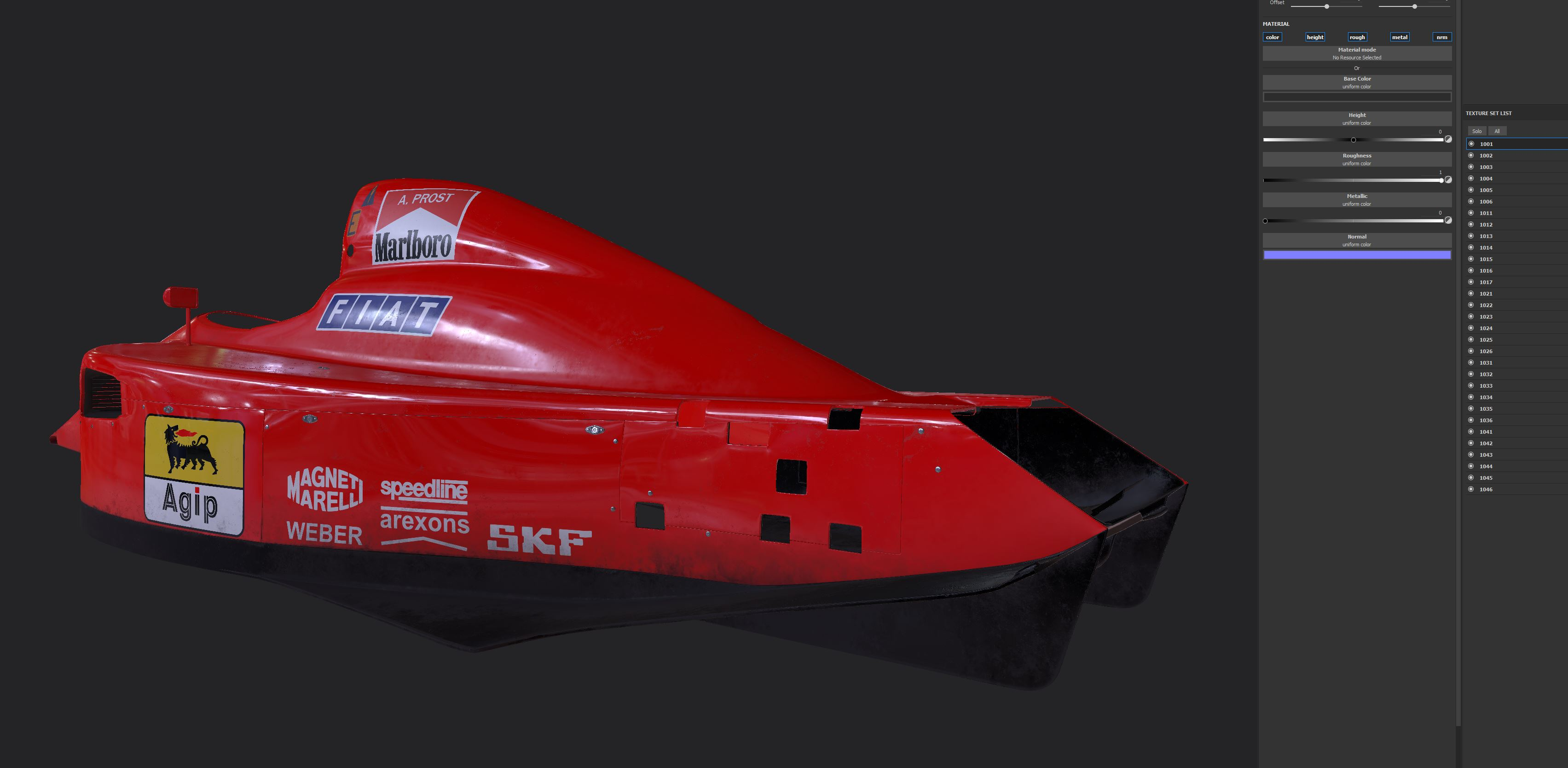 Car render Challenger 2018 - Ferrari 641
