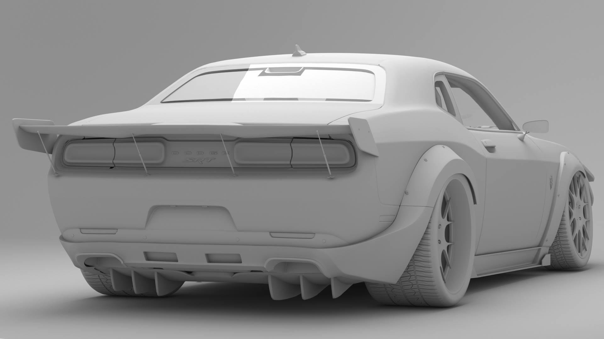 Hellephant Dodge Challenger