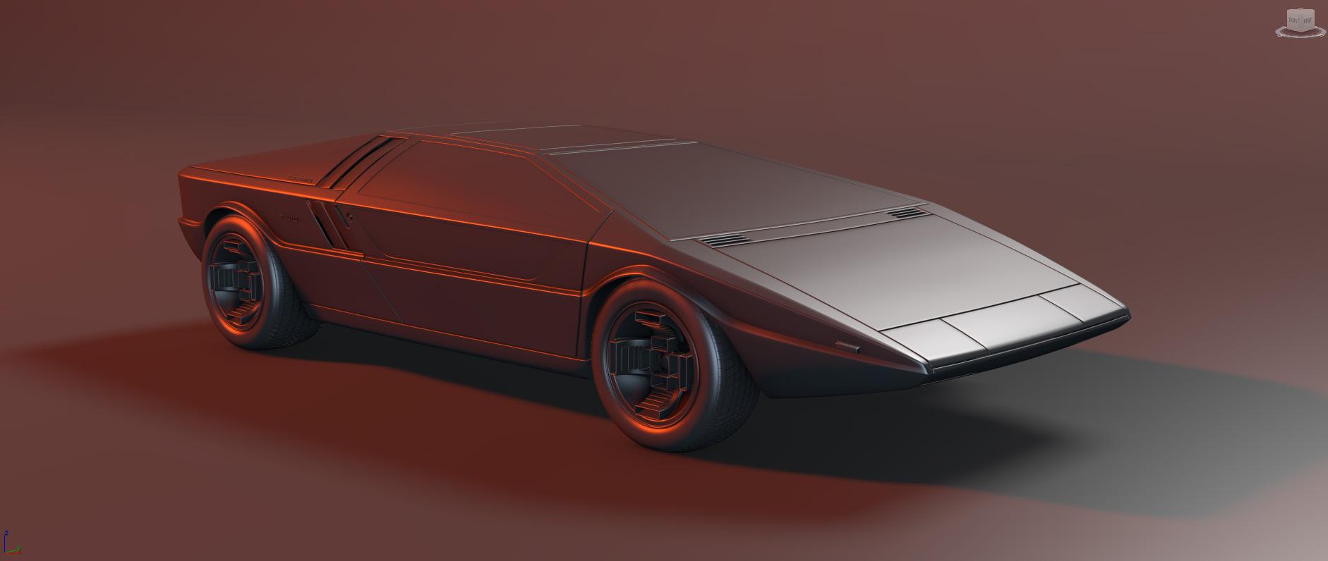 2018 Car Render Challenge - Maserati Boomerang