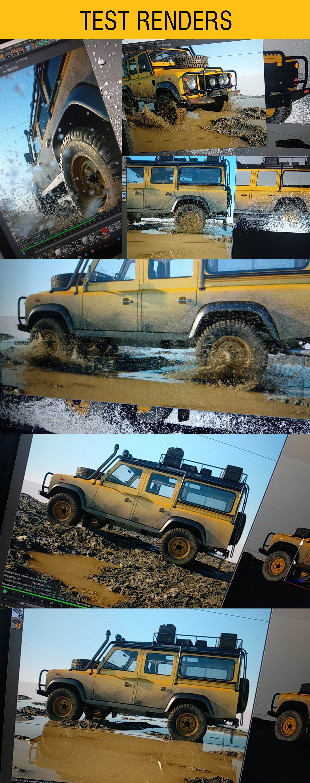 Car Render Challenge 2018 - Land Rover