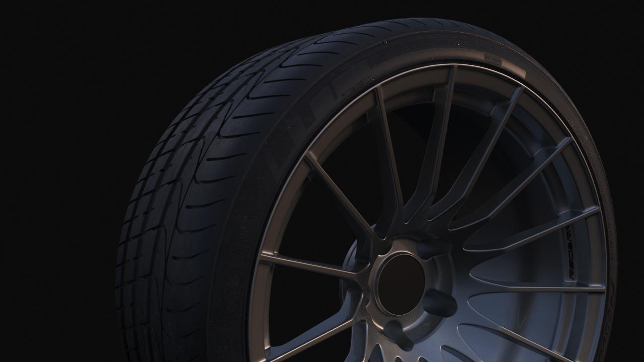 Car Render Challenge 2018 - Evo X
