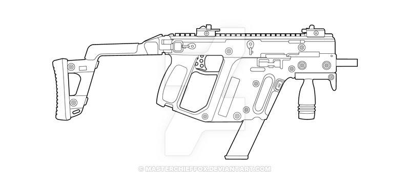 Three D Weapon - Vector