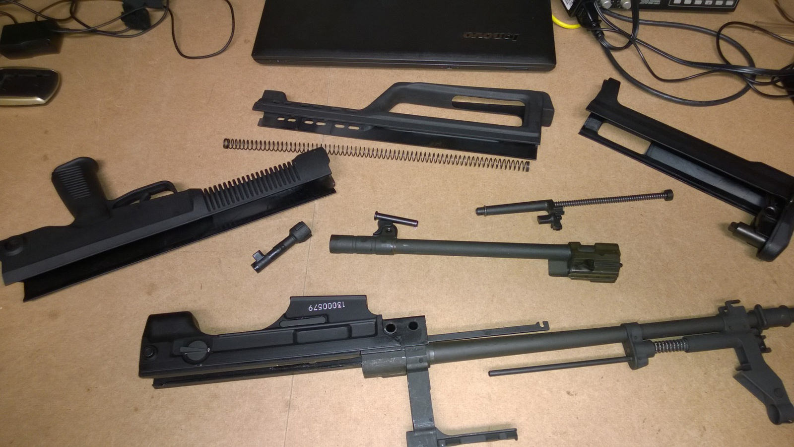 Three D Guns 2 - Type97 (Normal one & disassembly)