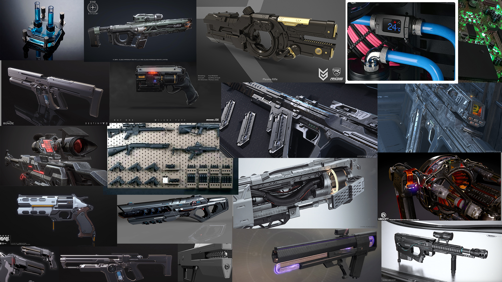 Three D Guns 2 - Sci Fi Pistol