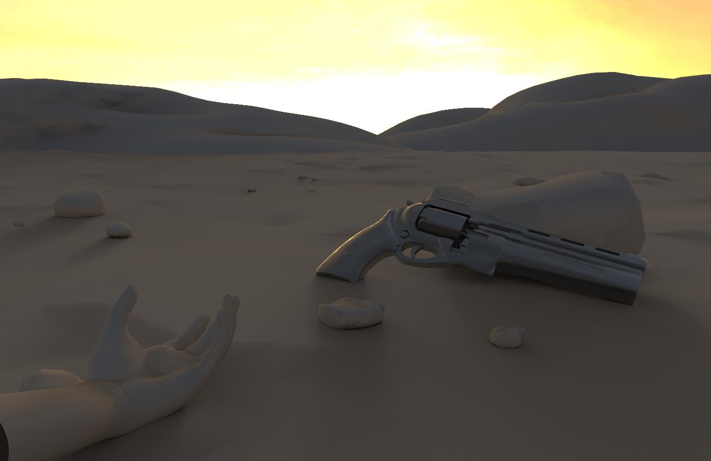 Three D Guns - The Gunslinger