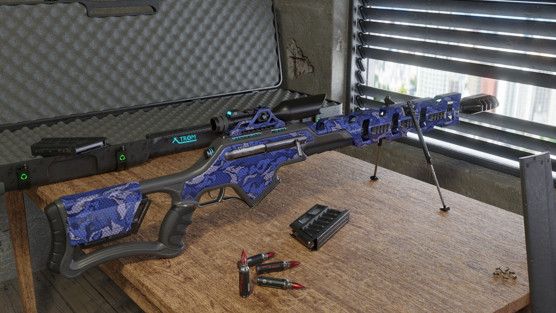 Three D Weapon - sniper rifle