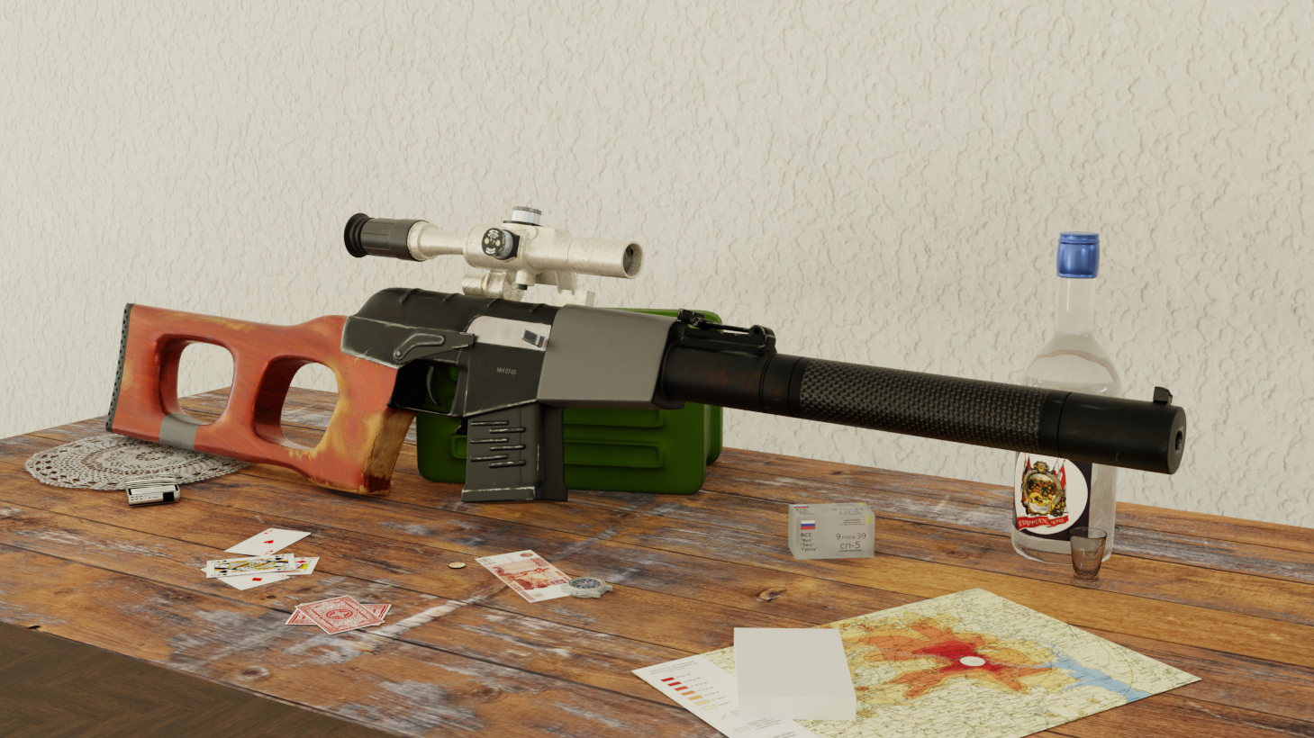 Three D Guns 2 - VSS Vintorez