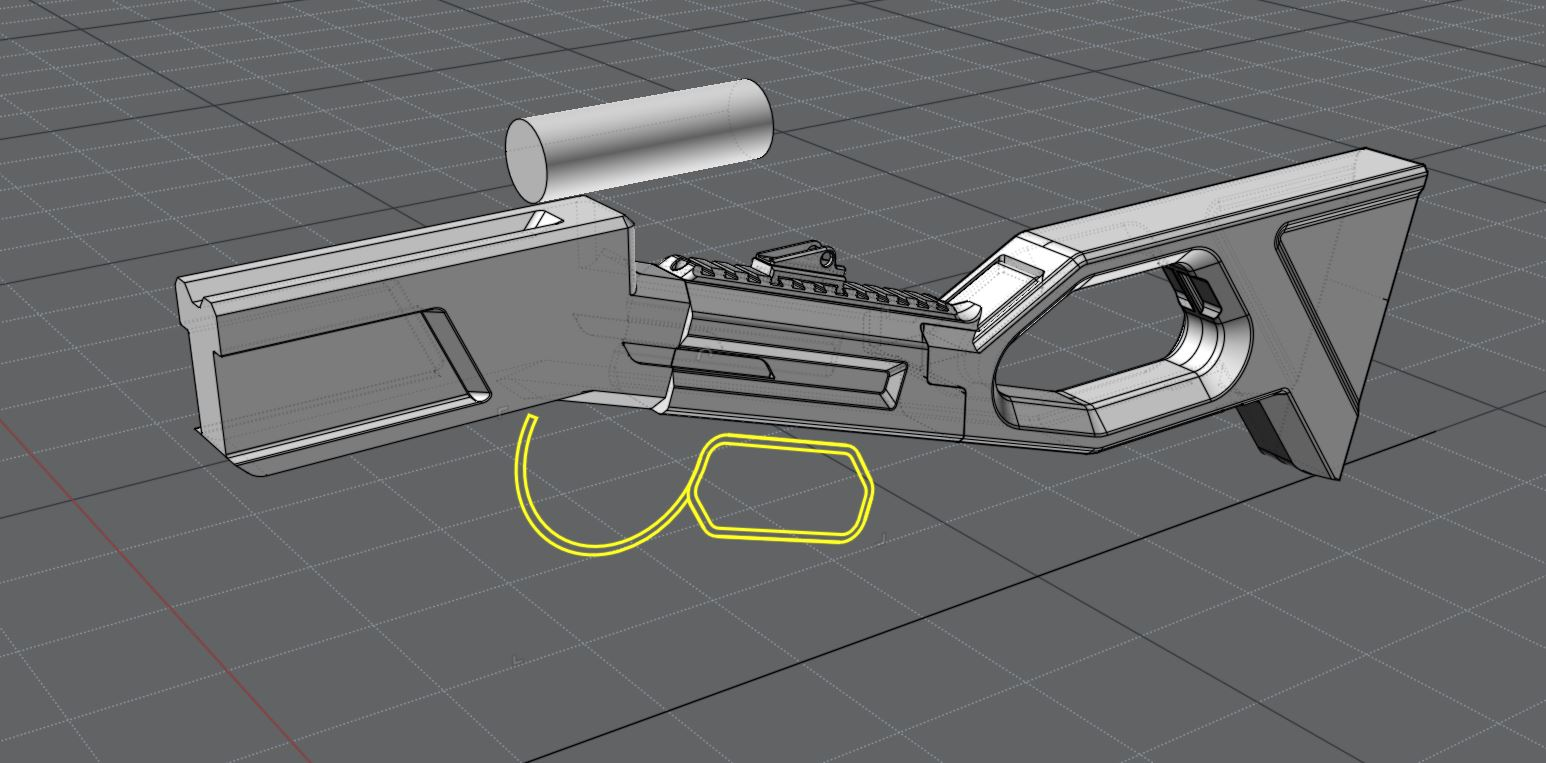 Three D Guns 2 - Concept Rifle