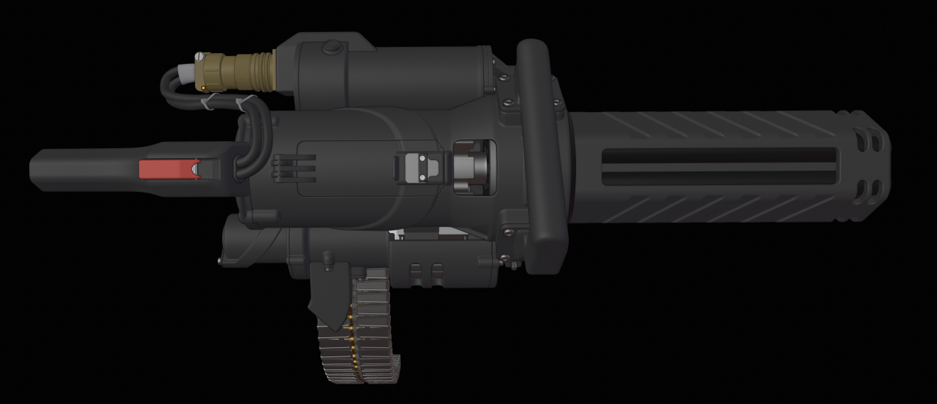 THREE D GUNS 2 Mini Gatling Gun