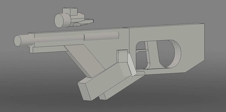 three D guns 2 scifiweapon