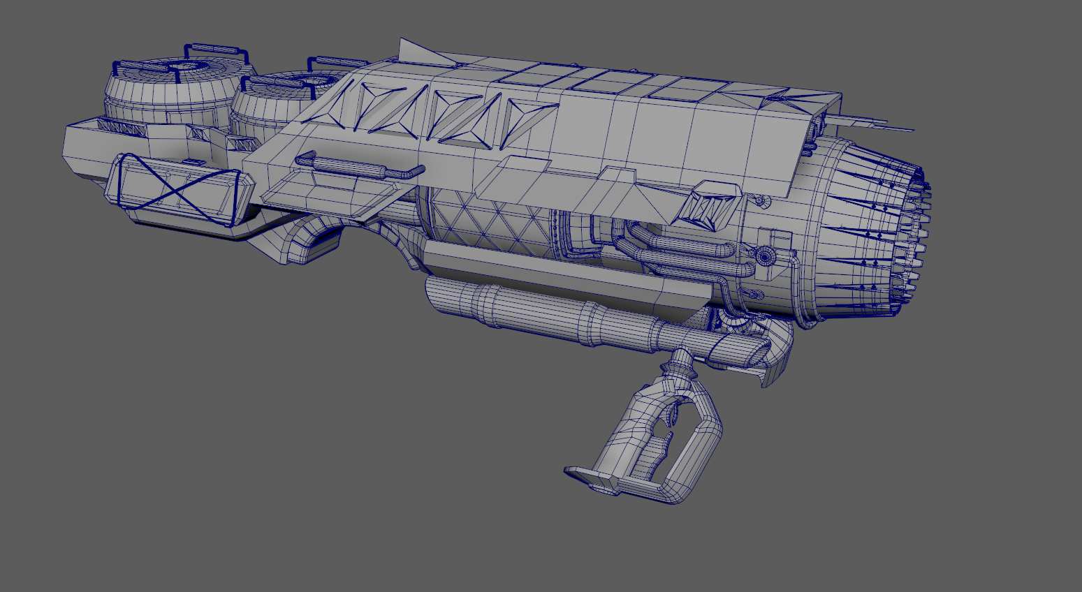 Three D Guns - Shoulder mounted ion canon