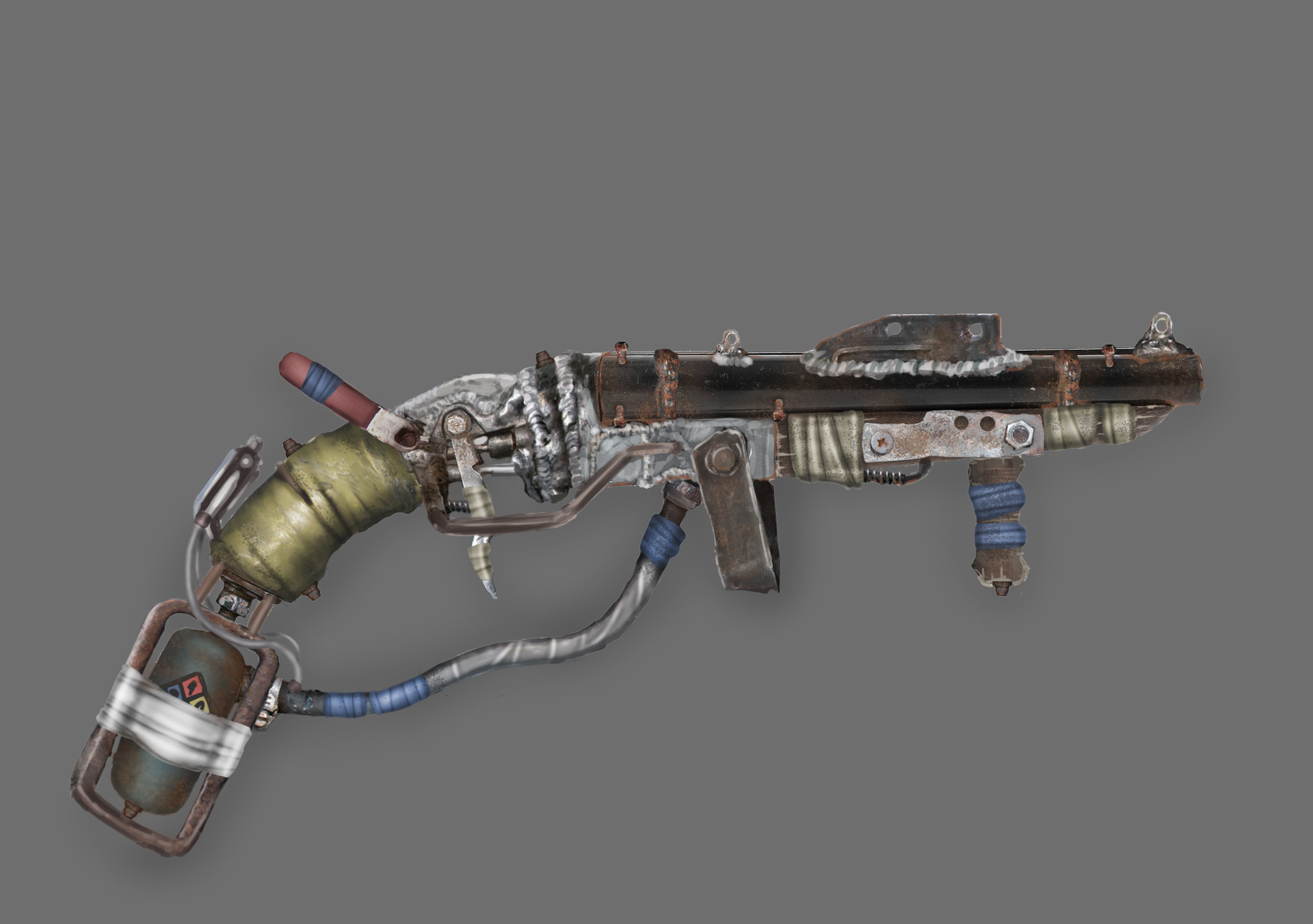Three D Guns 2 - Challenge - Post Apocalyptic Double Barreled Shotgun