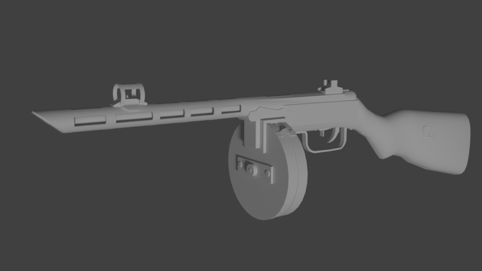 Three D Guns 2 - The PPSH wz. 41