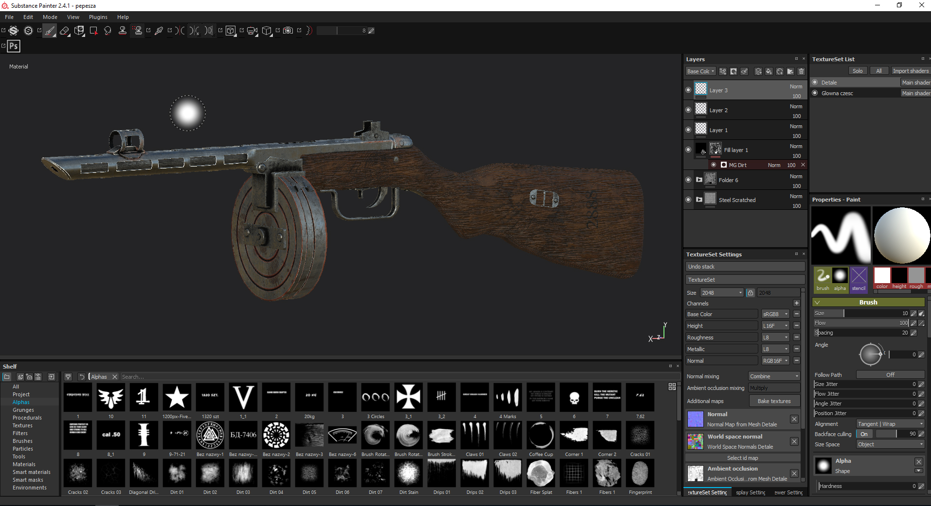 Three D Guns 2 - The PPSH wz. 41