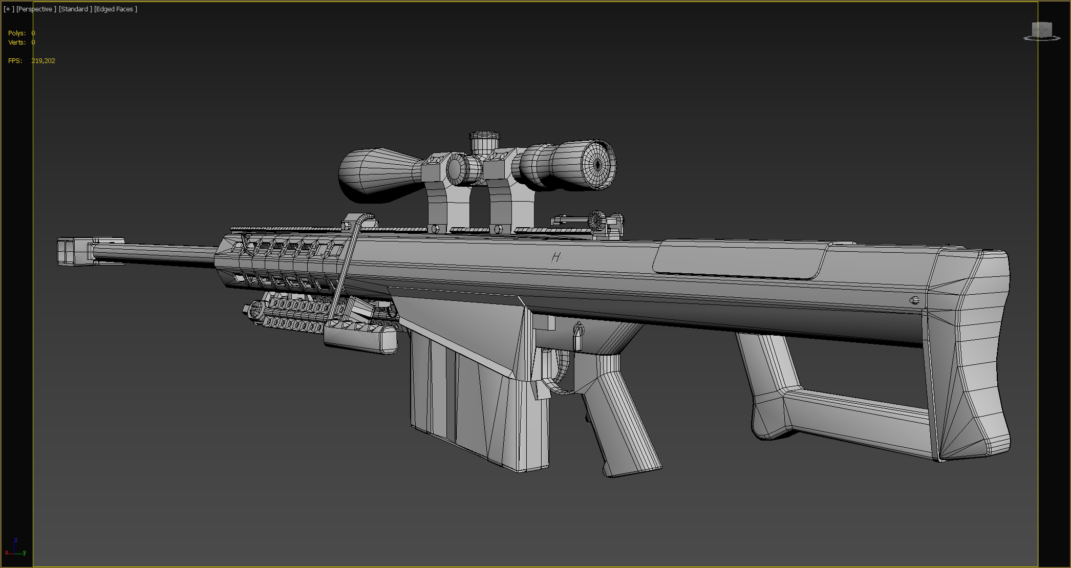 Three D Weapon - Anti-Materiel Rifle