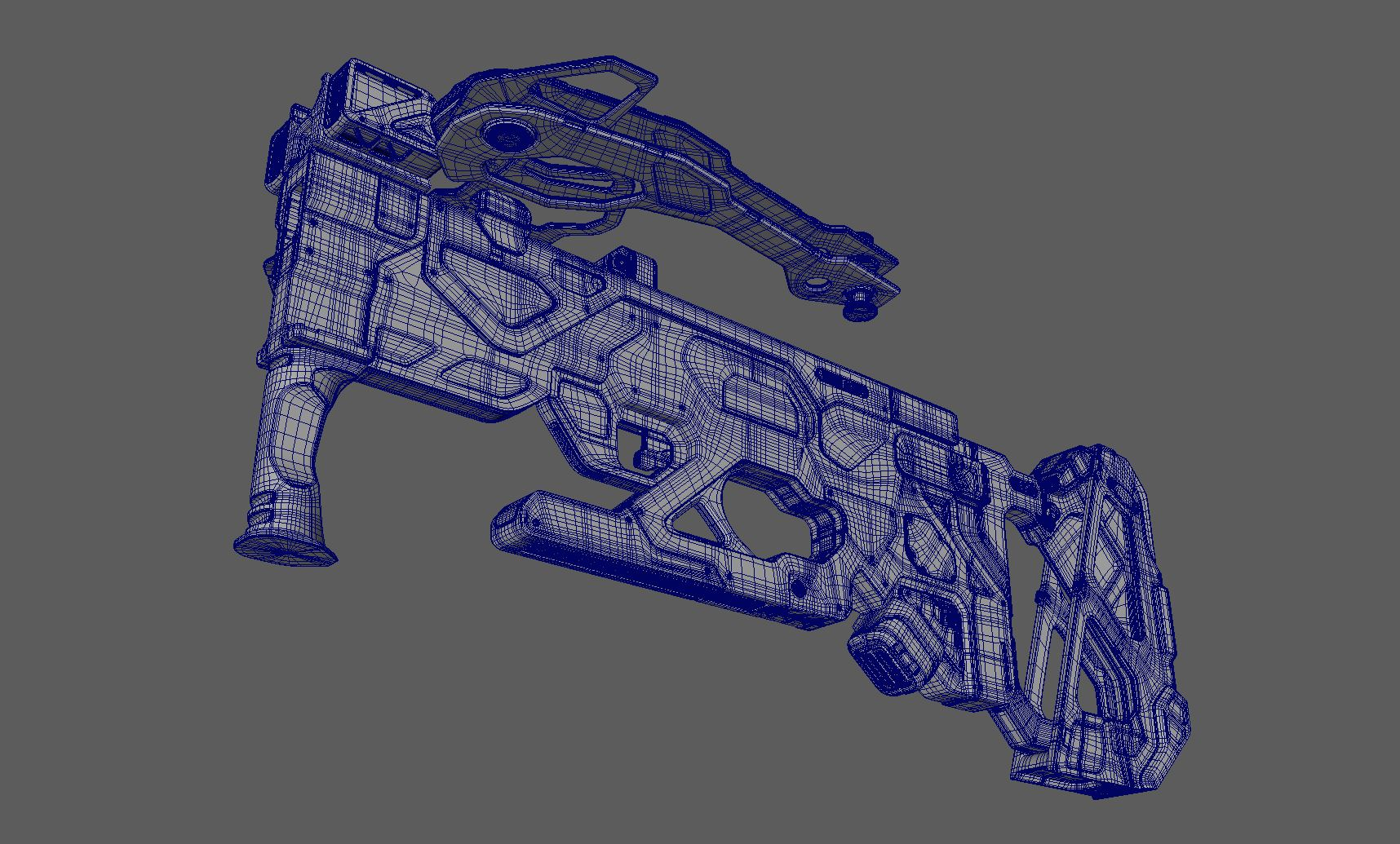 Three D Guns 2 / MK_05/CRS - Futuristic Crossbow
