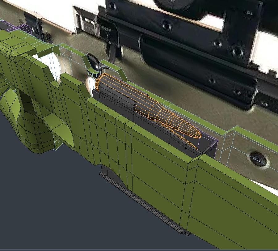 Three D Weapon 2 - AWM Sniper Riffle
