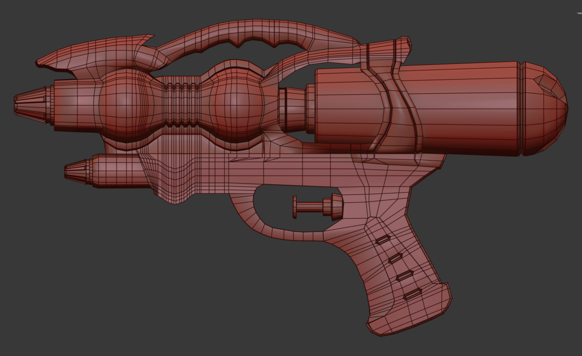 Three D Guns 2 WiP - PEW PEW
