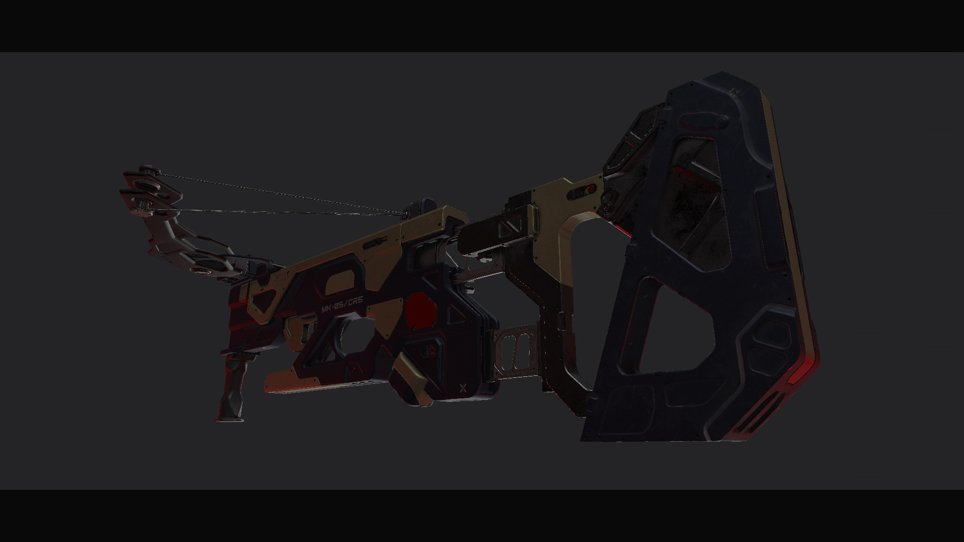 Three D Guns 2 / MK_05/CRS - Futuristic Crossbow