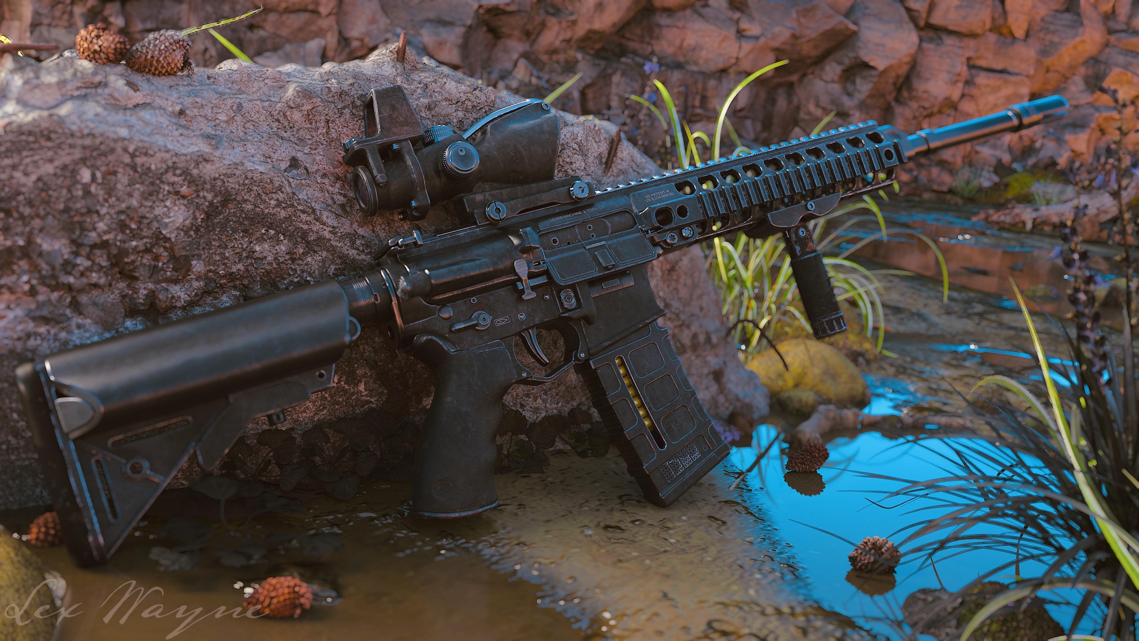 Three D Guns 2 Challenge - MARS-L New Zealand Army