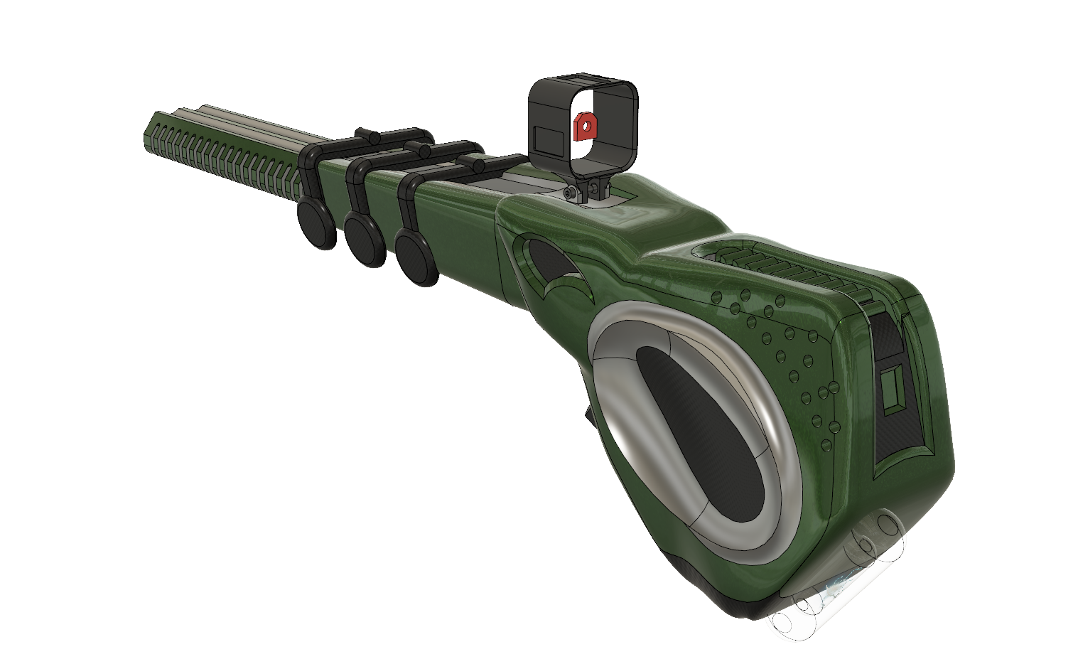 Three D Guns 2 Challenge: CR Replicator