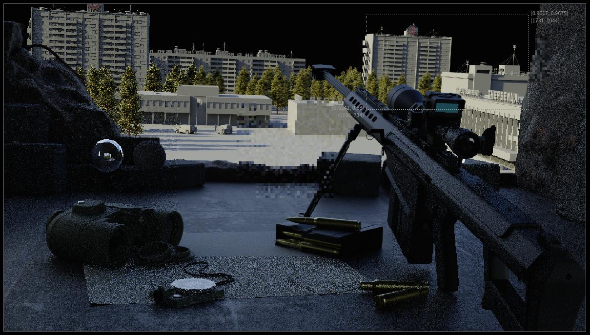 Three D Guns 2 Challenge - Ghillie's Nest, Chernobyl