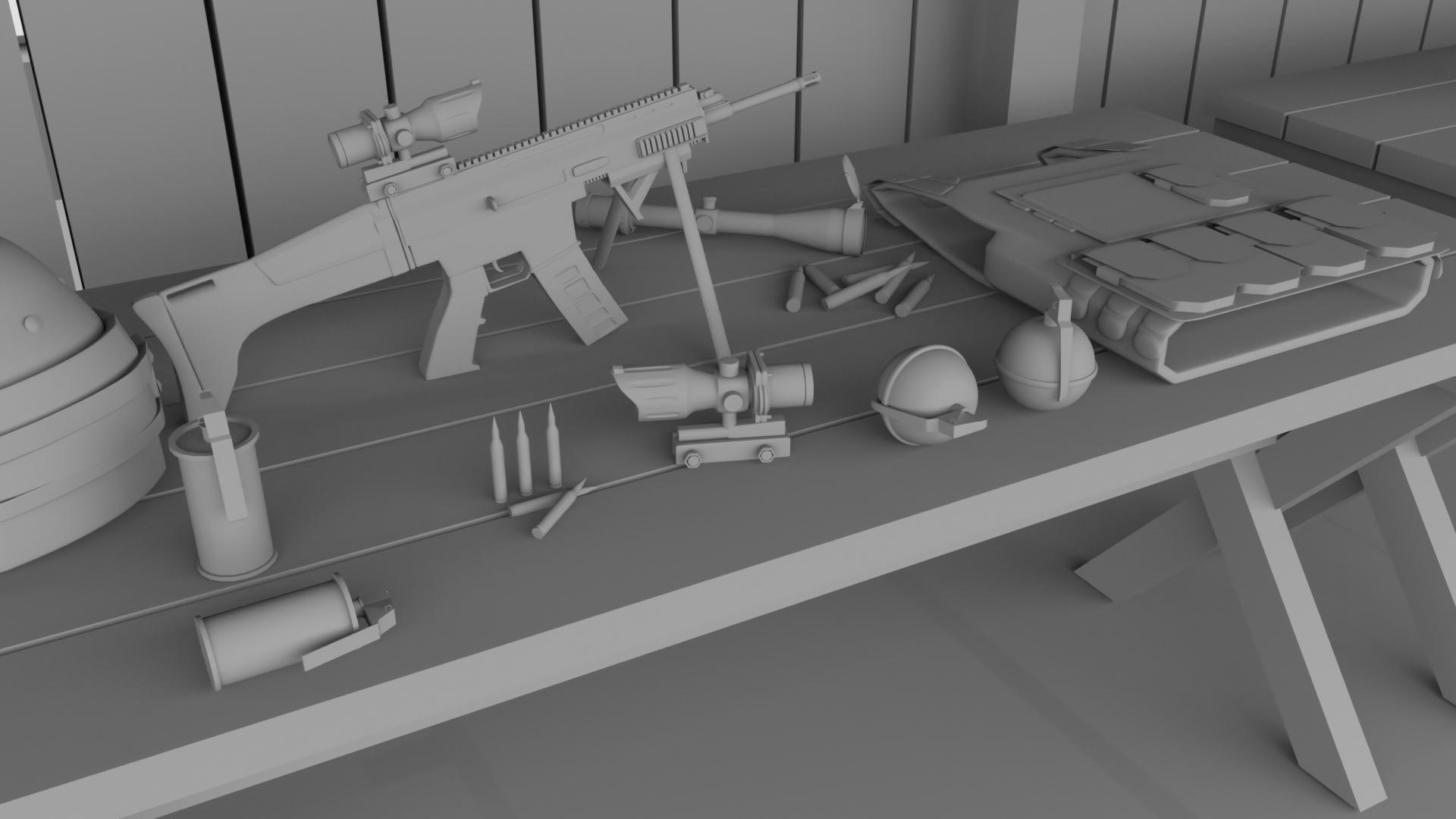 PUBG Weapon Spot