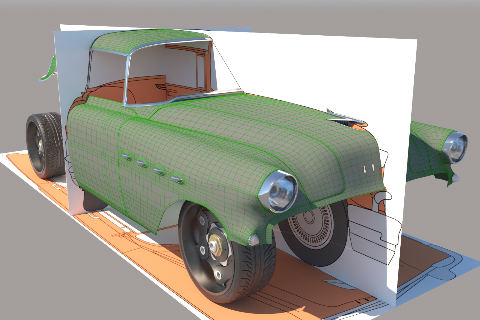 3D Car Render Challenge 2019: Tom