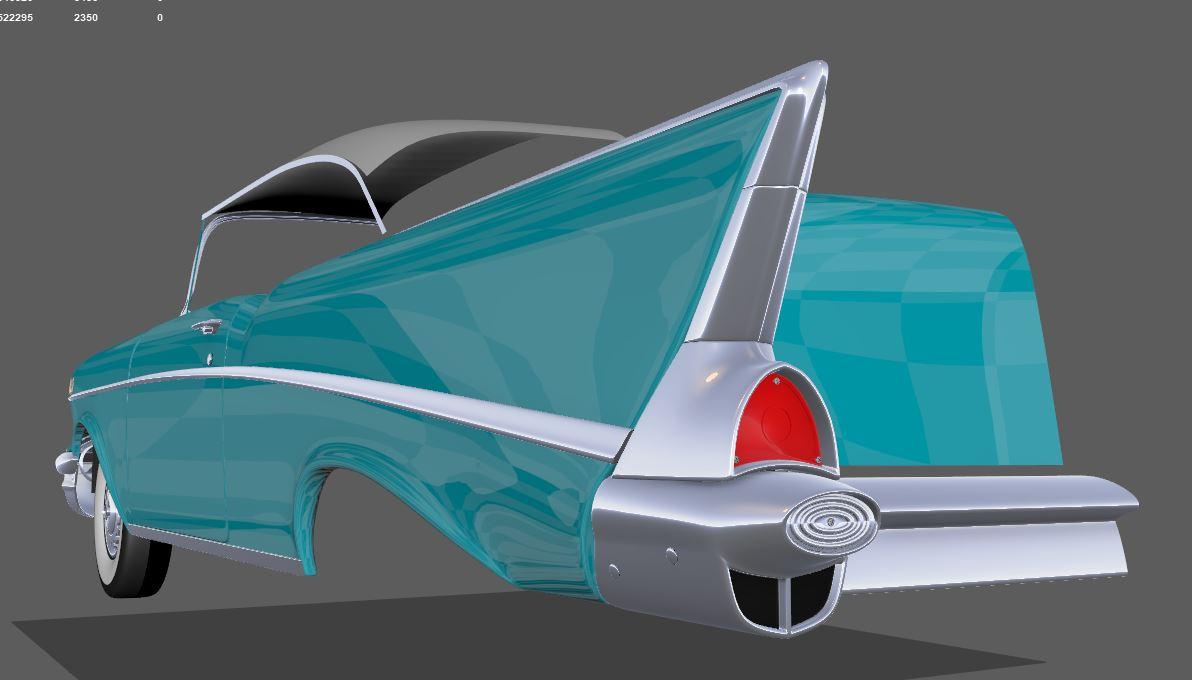 2019 car challenge - 1957 Bel Air