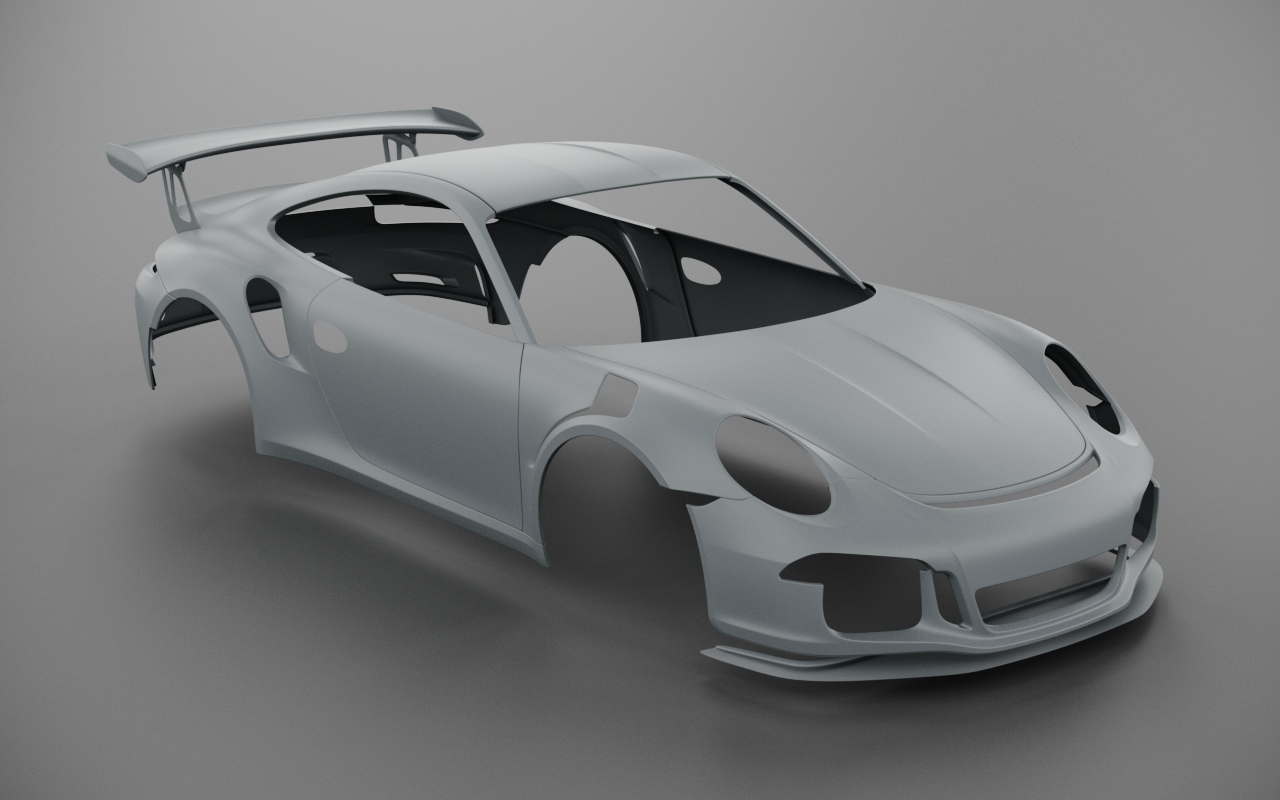 2019 Car Render Challenge - Porsche Gt3 RS