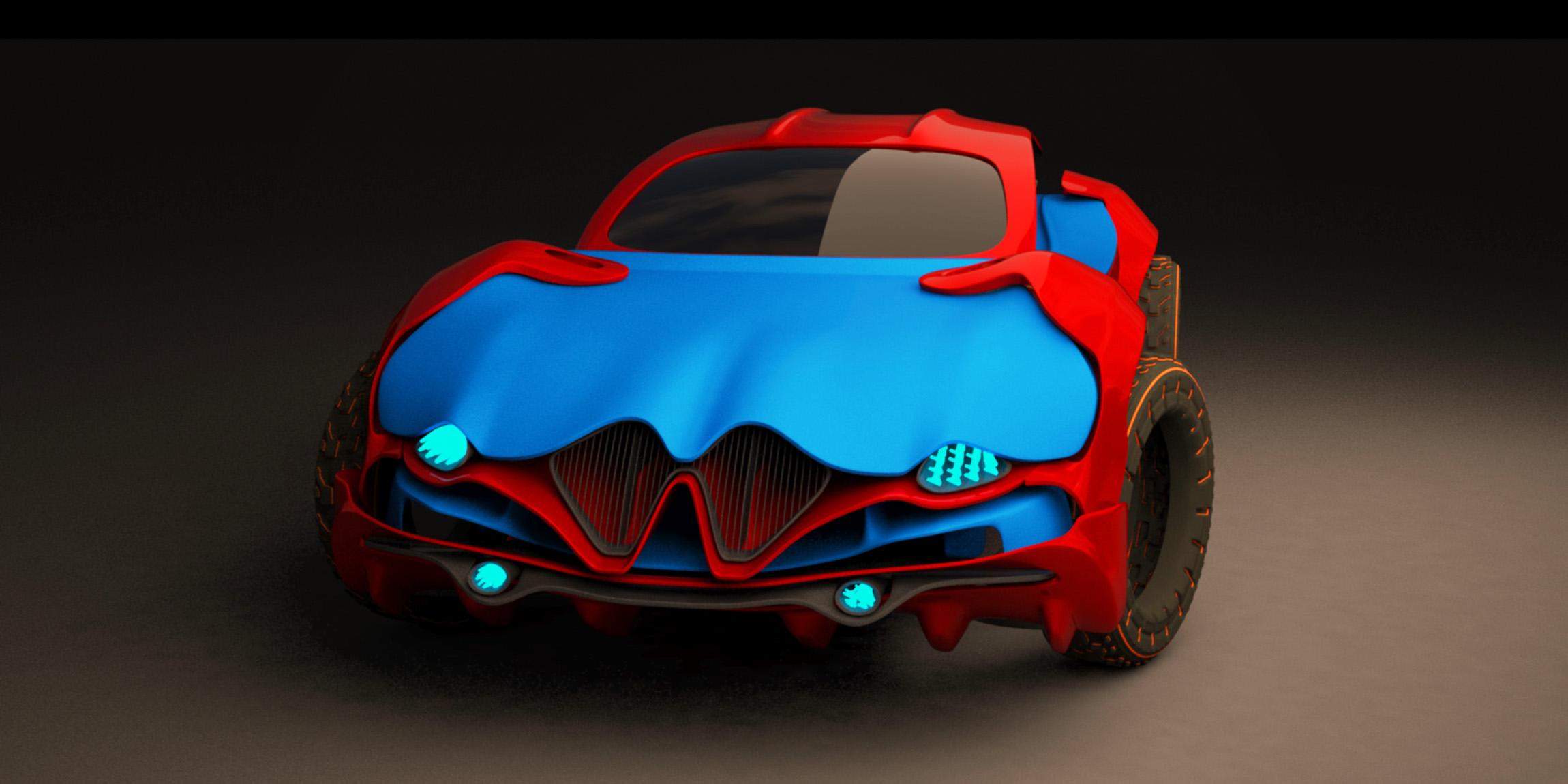 HUM3D car design challenge 2019 gbeg