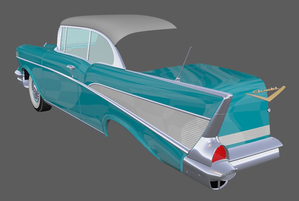 2019 car challenge - 1957 Bel Air