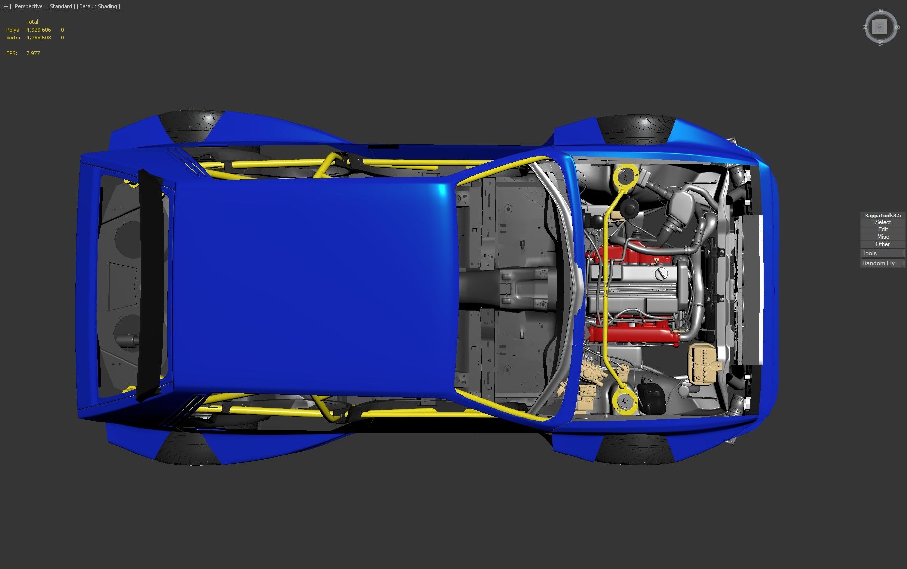 2019 Car Challenge Lancia Delta EVO