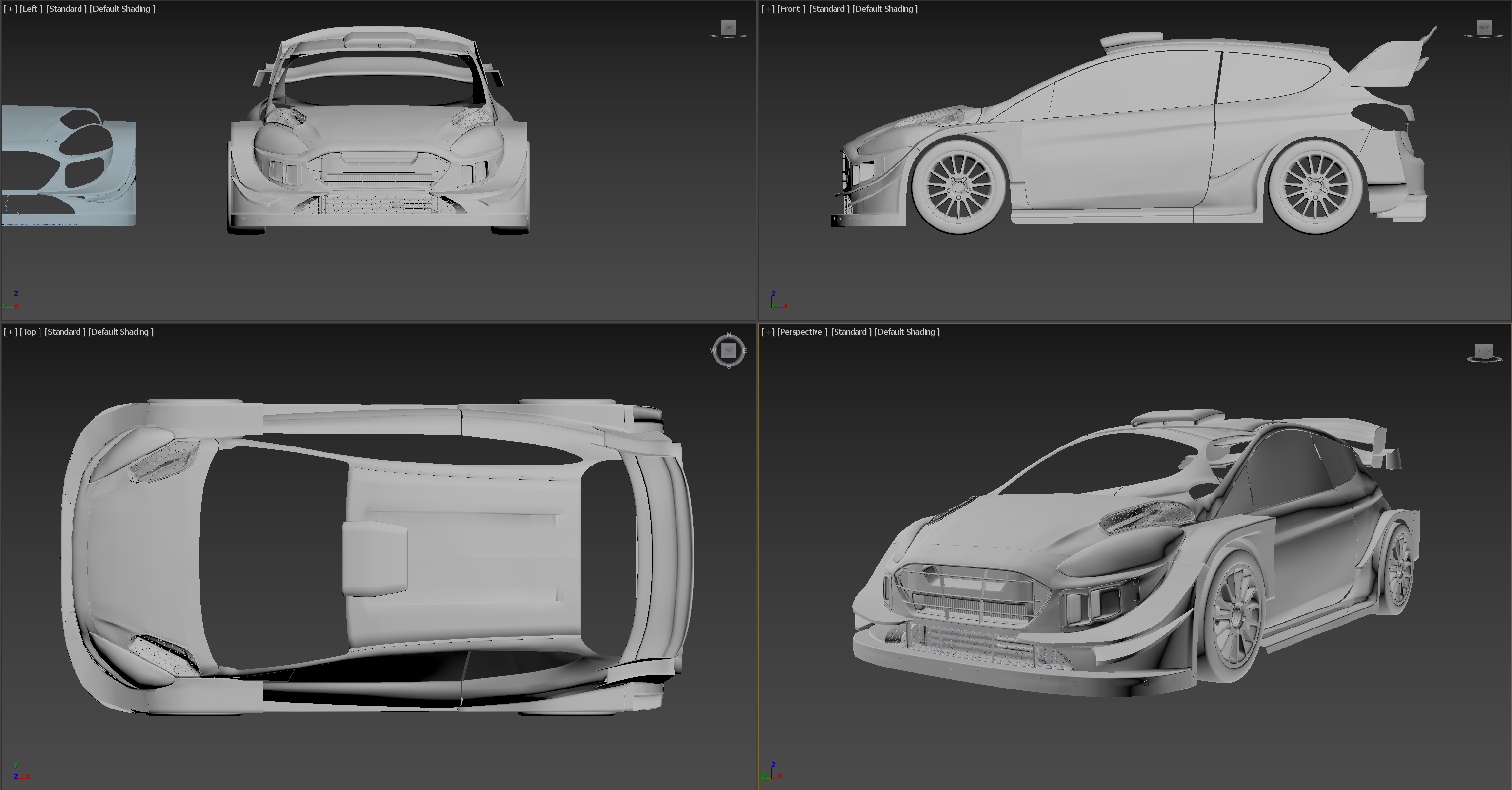 Humster3D Car competition 2019 - Kevin Boulton Entry WIP