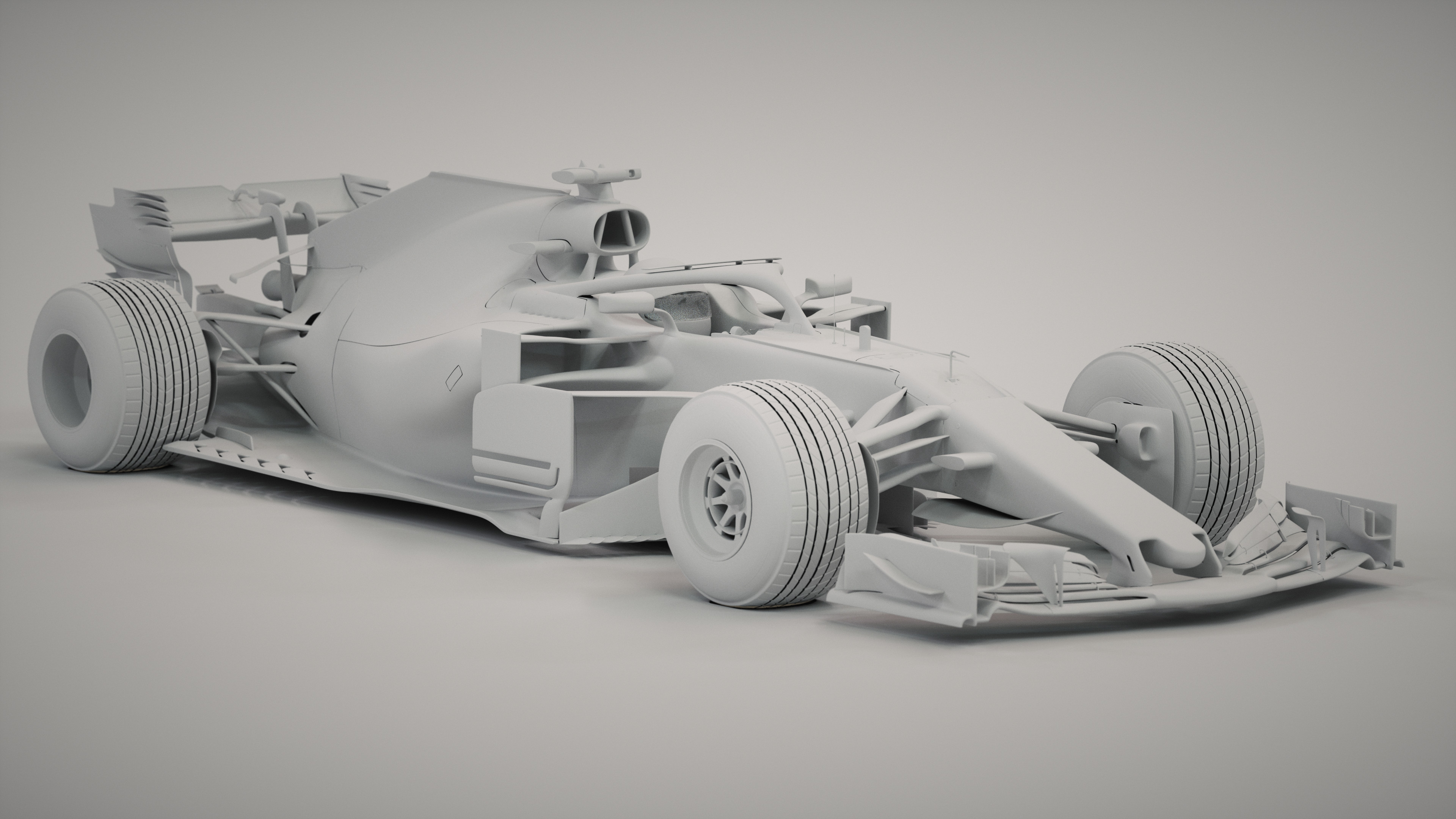 Williams FW41 car render challenge 2019