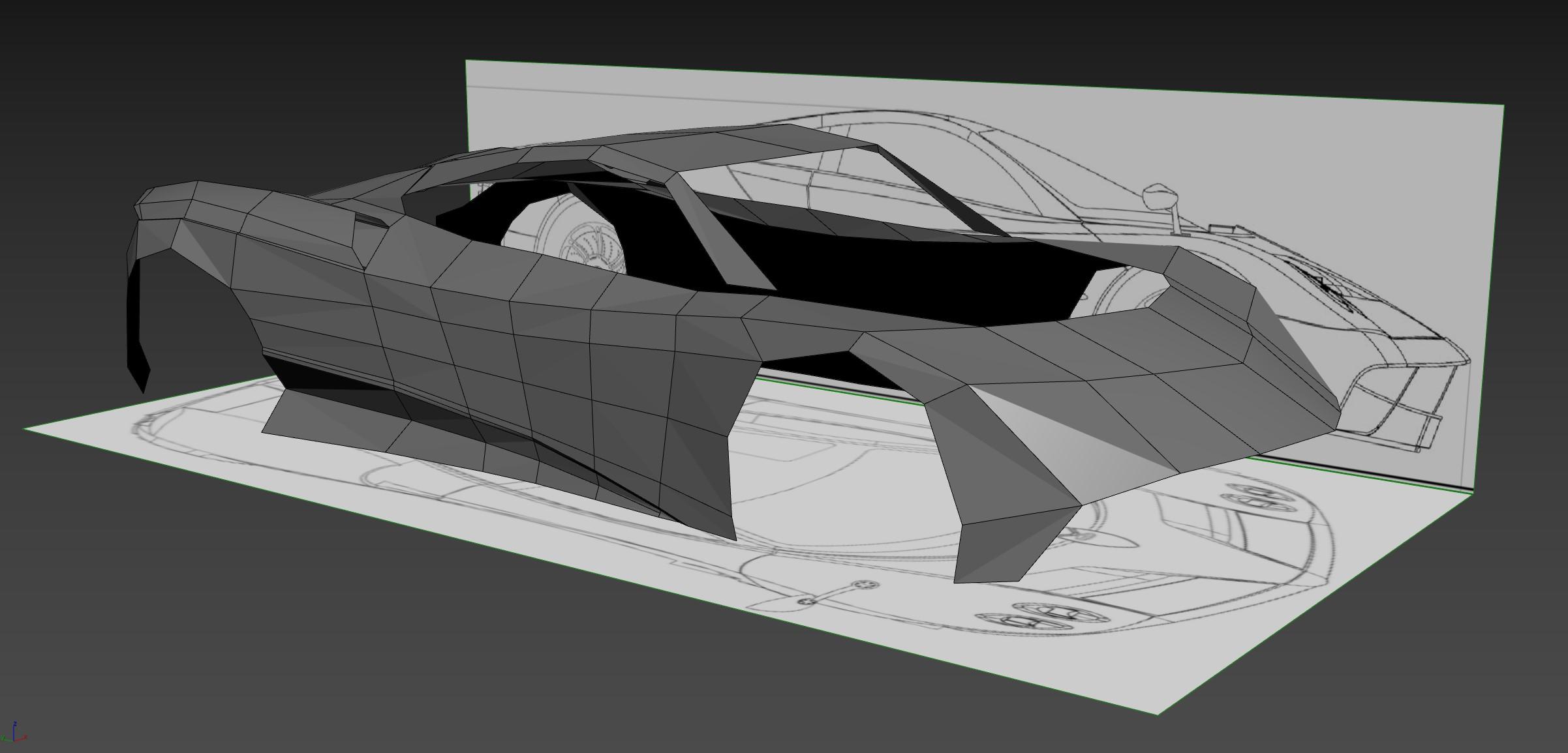Pagani Huayra - Car Render Challenge 2019