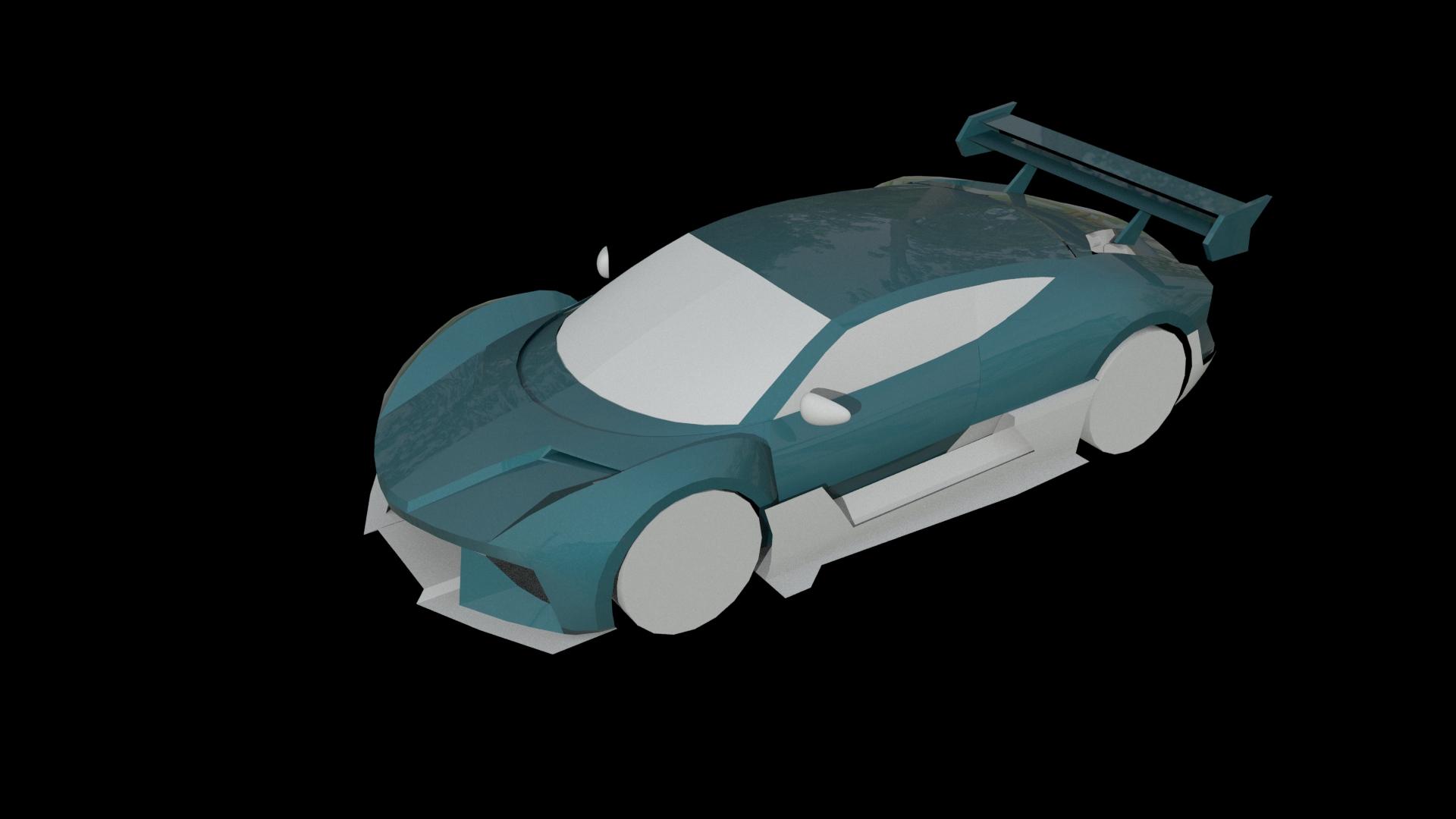 Car Render Challenge 2019 --Bin Zhu WIP