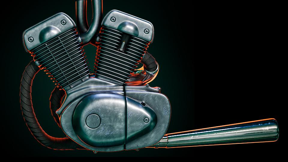 2019 Car Render Challenge - Cyberfunk 1987