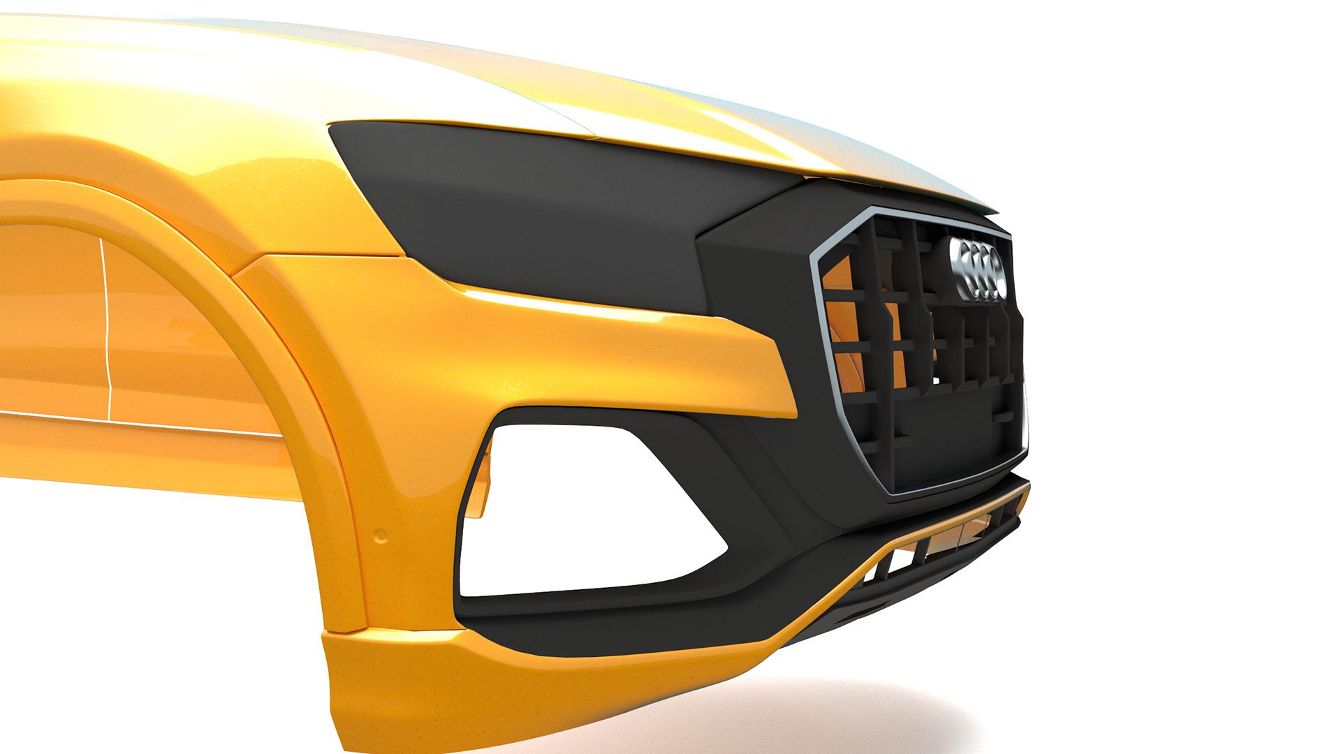 2019 Car Render Challenge - Audi Q8