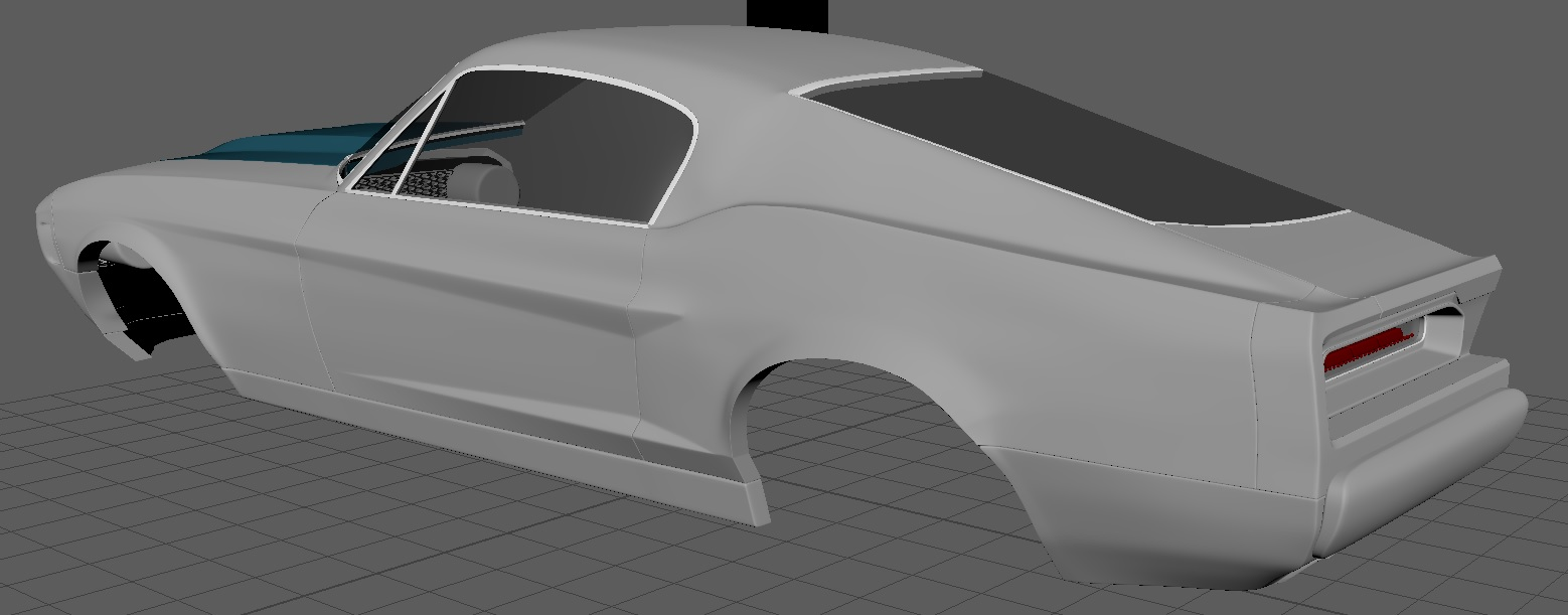 2019 car render challenge - Equus Bass 770