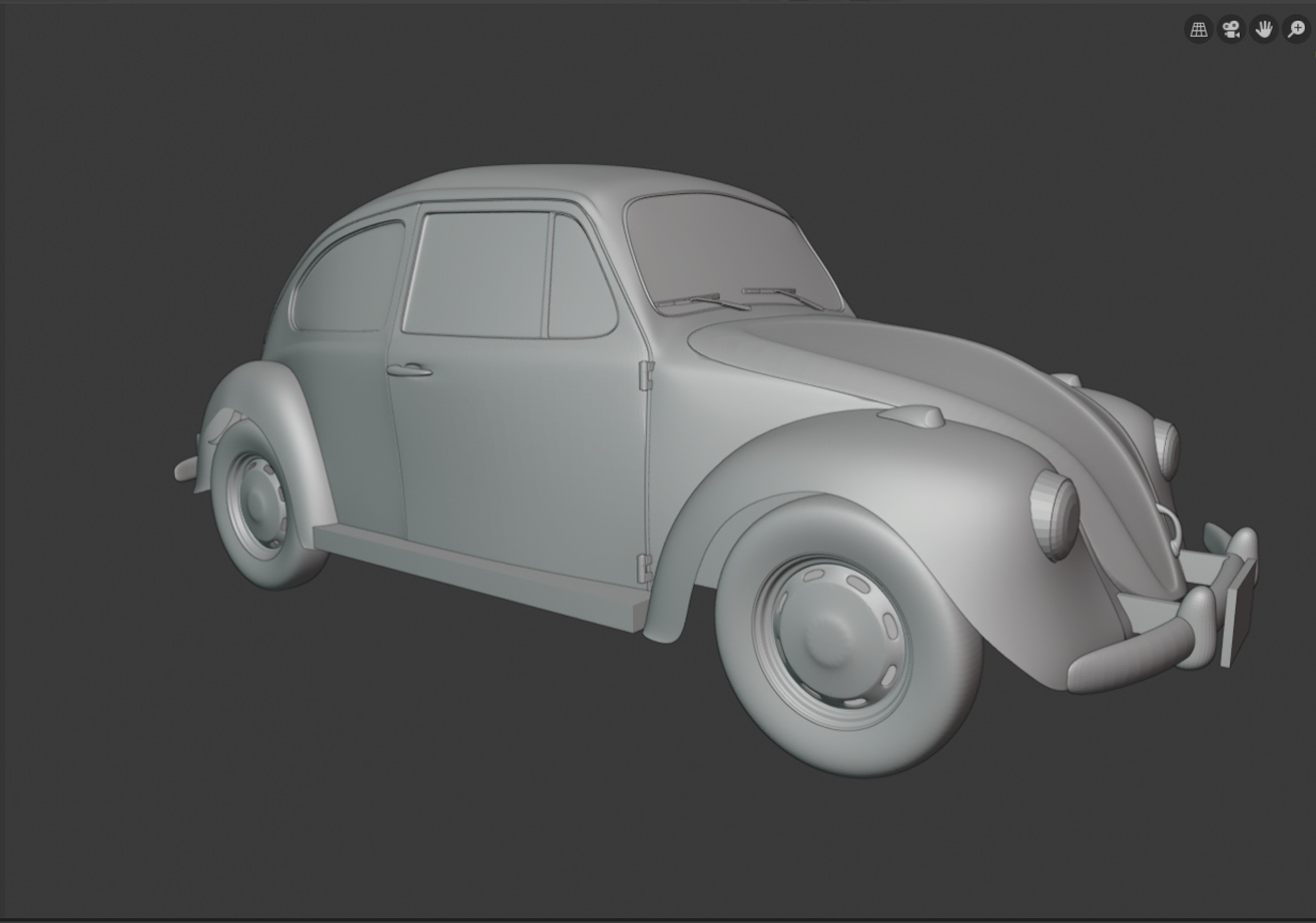 VW Bug - Hum3d Car Challenge 2019