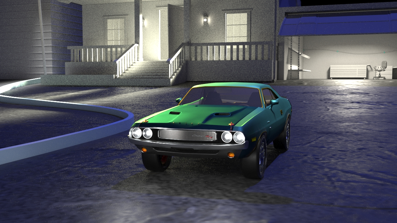 Car Render Challenge 2019 - Dodge Challenger 1970