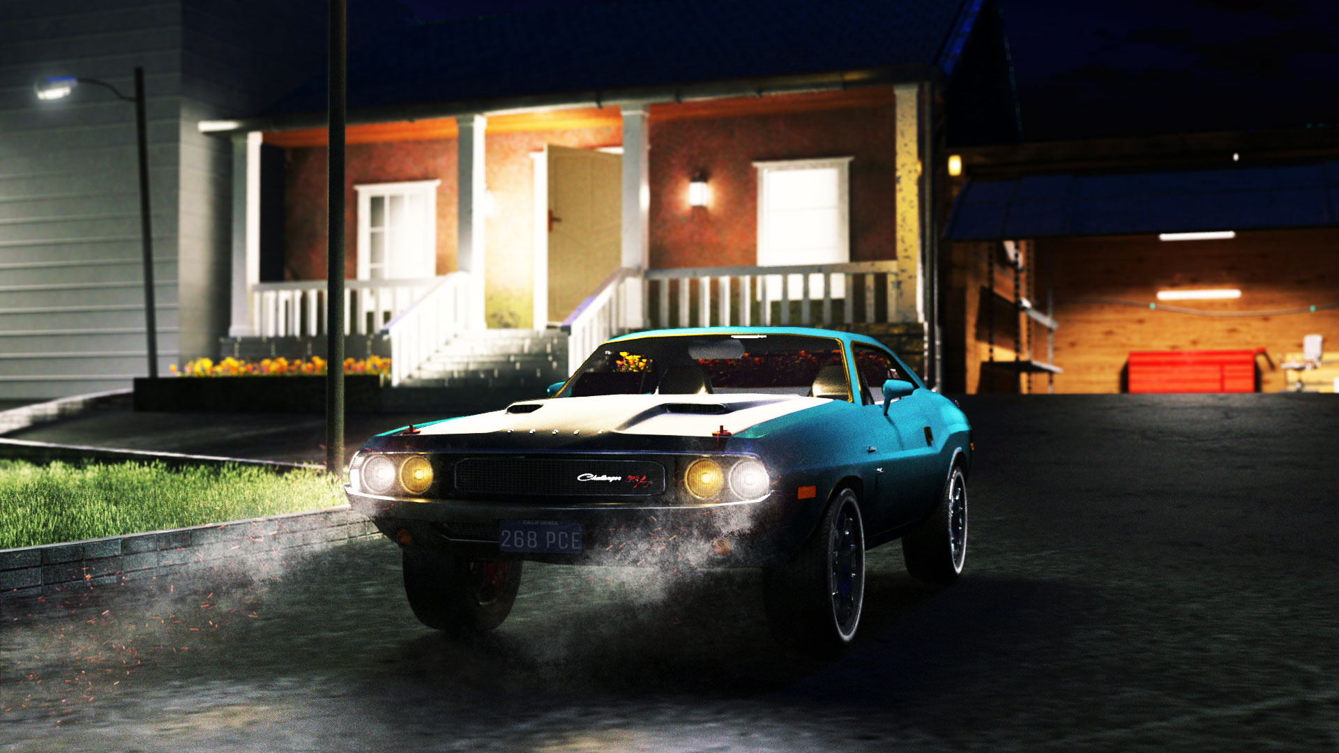 Car Render Challenge 2019 - Dodge Challenger 1970