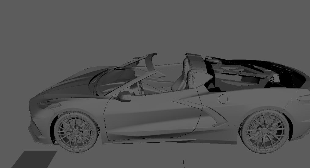 CHEVROLET CORVETTE C9 by d3ricDesign - Car Render Challenge 2019