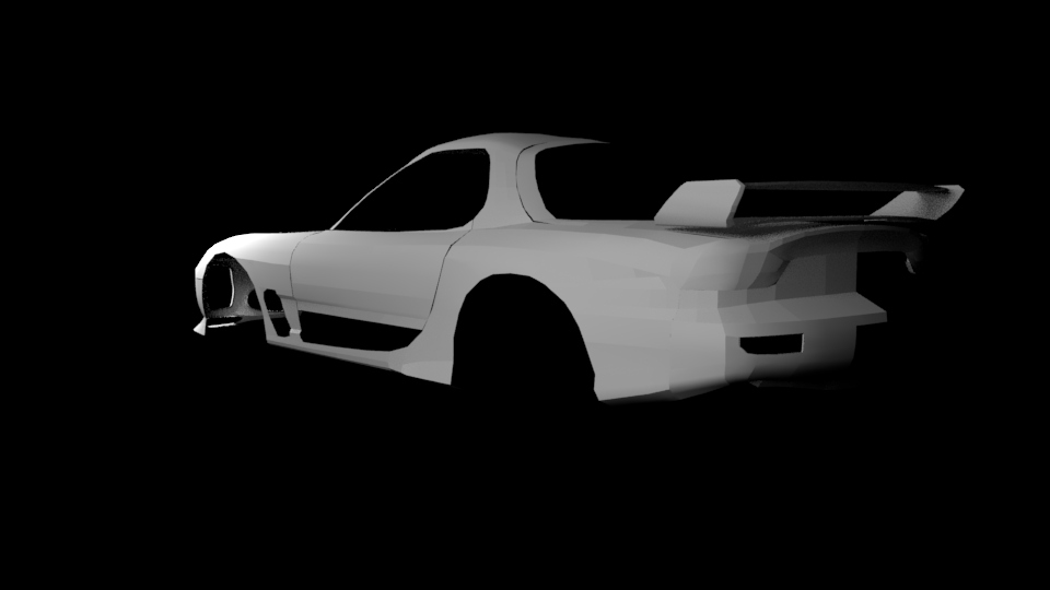 Hum3d Car render challenge: Wangan run