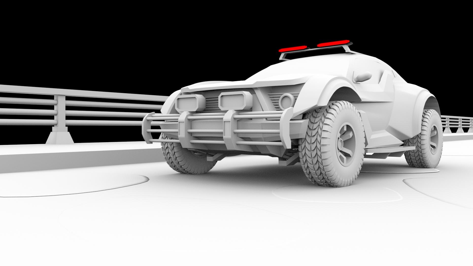 Car Render Challenge 2019: ZarooQ sandracer 500GT