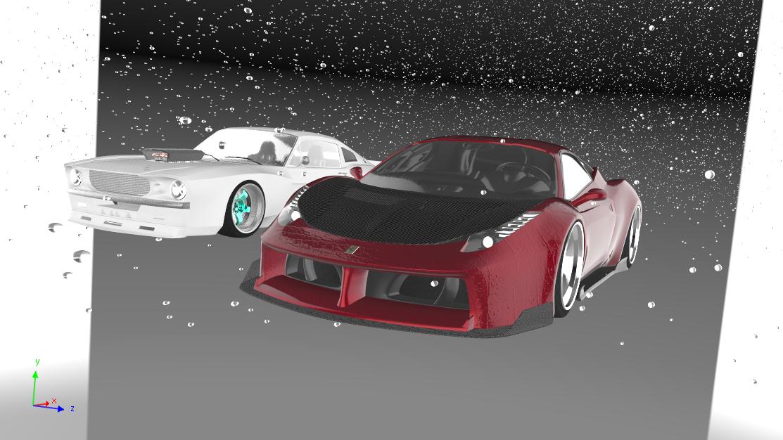 Car Render Challenge 2019 - Ford v Ferrari 2021
