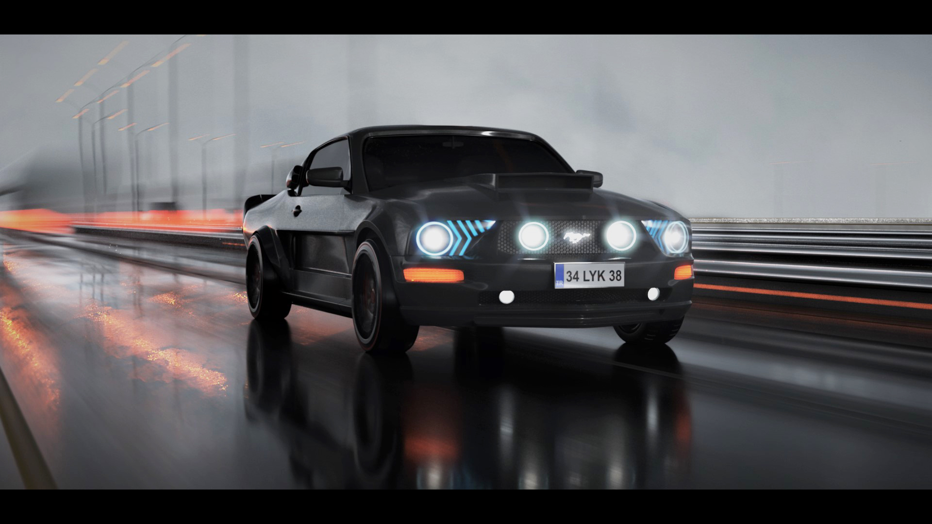 Car Render Challenge 2019 - Mustang Shelby From the 60s to the 2000s -